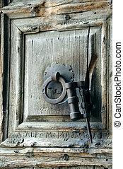 Holy Sepulcher Door Handle - Fragment of ancient doors of...