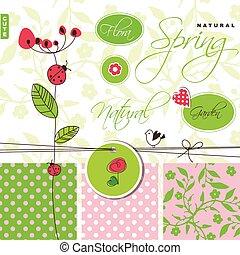 Garden - green design elements
