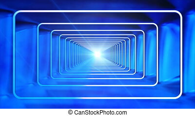 Broadcast Endless Hi-Tech Tunnel 10 - Thank you for choosing...
