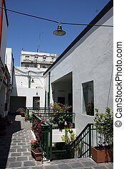 San Telmo in Buenos Aires, Argentina - San Telmo neigborhood...