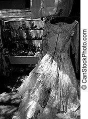 Dress at market of in Buenos Aires, Argentina - Wedding...