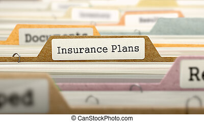 Folder in Catalog Marked as Insurance Plans - Folder in...