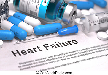 Heart Failure Diagnosis Medical Concept - Heart Failure -...