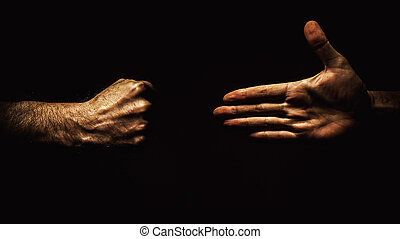 Open Hand And Fist