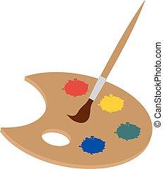 color palette illustration - Creative design of color...