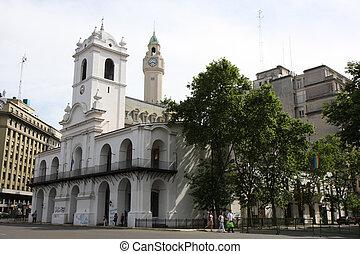 Piazza del Mayo in Buenos Aires, Argentina - Piazza del...