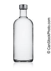 Full closed bottle of vodka