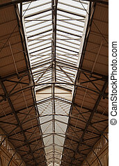 Old Trussed Windowed roof - Old style Trussed Windowed roof...