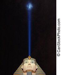 Bright Idea - Could the pharaoh be having a bright idea?