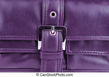 violet leather bag buckle - violet aubergine leather bag...