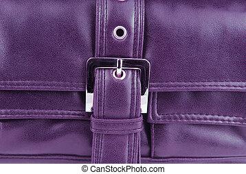 violet leather bag buckle - violet aubergine leather bag...