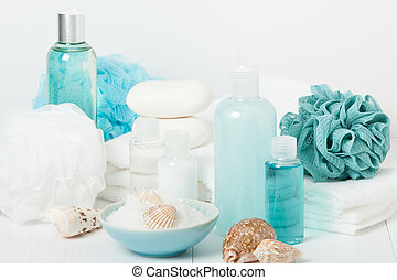 Spa Kit Shampoo, Soap Bar And Liquid Shower Gel Aromatherapy...