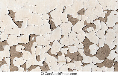 background of wall with peeled paint