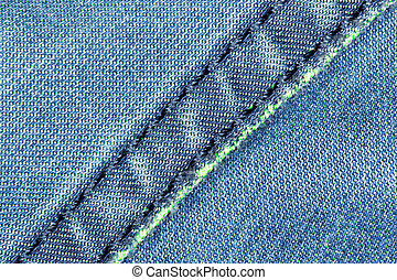 jeans fabric as background. close-up