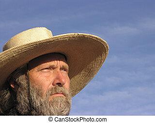 dall'aspetto,  cowhand, avanti, fuori