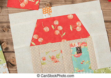 Quilted House. Sewing And Quilting Accessories. Fabric...