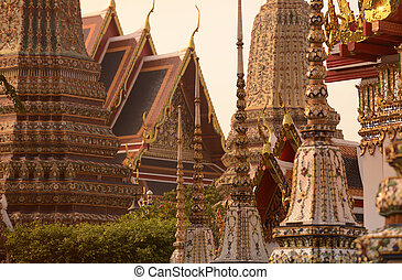 ASIA THAILAND BANGKOK - the temple of Wat Pho in the city of...