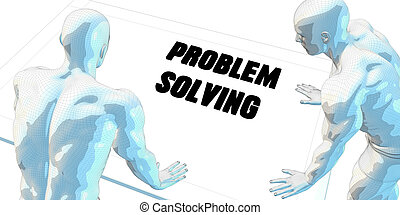 Problem Solving Discussion and Business Meeting Concept Art