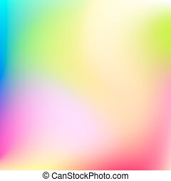 Abstract Blured Color Background - Abstract pink, green,...
