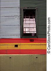 La Boca in Buenos Aires, Argentina - La Boca neigborhood in...