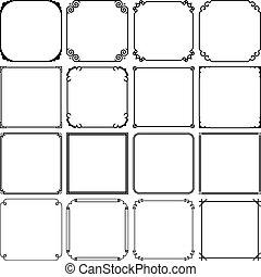 Frames - Set of frames