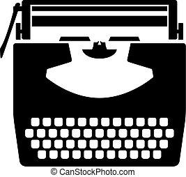 Typewriter, shade picture