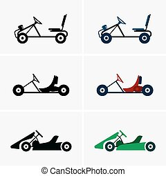 Karts - Set of six karts