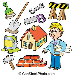 Home improvement collection - vector illustration