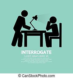 Police Interrogate Black Symbol - Police Interrogate Black...