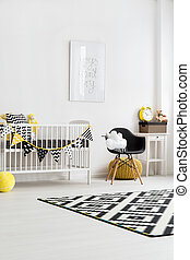 Coziness is the key - Image of a modern nursery room