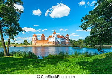 delightful Mir Castle in Belarus - Mir Castle -...