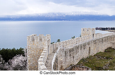 Tsar Samuels fortress in Ohrid, Macedonia