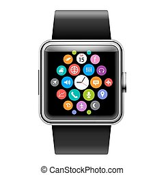 Smart Watch - Wearables Technology Device Smart Watch with...