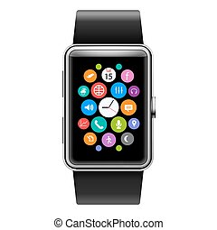 Smart Watch - Wearables Device Smart Watch with Color Apps...