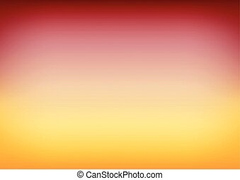 Red Yellow Gradient Background Vector Illustration