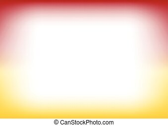Red Yellow Copyspace Background Vector Illustration