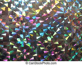 iridescent paper