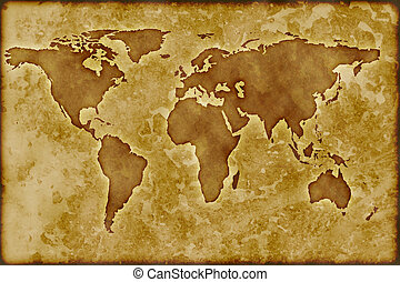Old worldmap