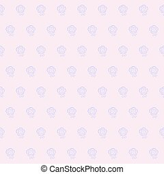 Gentle floral seamless wallpaper pattern
