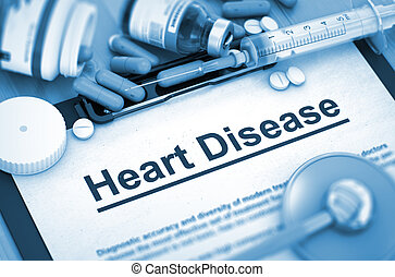 Heart Disease Medical Concept - Heart Disease, Medical...