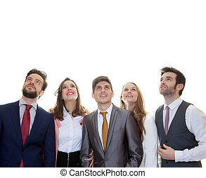 groupof business people