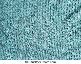 Teal Cloth Background