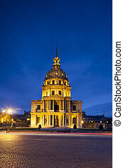 Chapel Saint Louis des Invalides, burial place of Napoleon...
