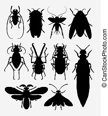 Insect bug animal silhouette 1 - Insect, bug, small animal...