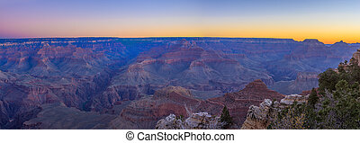 Grand Canyon Sunrise from Mather Point - Amazing Sunrise...