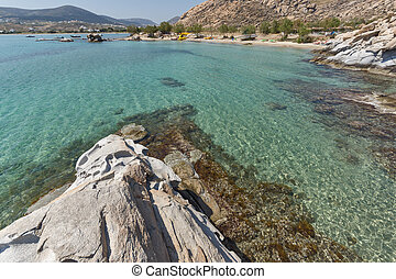 kolymbithres beach, Paros island - Amazing Seascape of...