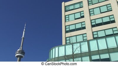 Buildings on the Toronto waterfront - Buildings along the...