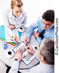 Planning - Photo of business persons planning their work