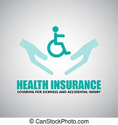 Insurance  health, and travel icons
