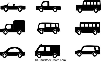 Vehicles - Vector set of vehicles.